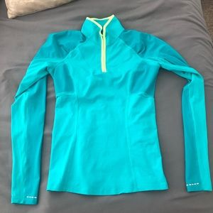 Rare Lululemon swiftly 1/2 zip Jacket UEC